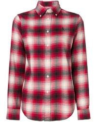 Ralph Lauren - Plaid Shirt With Logo - Lyst