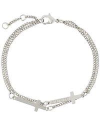 DSquared² - Armband mit Kreuzen - Lyst