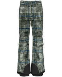 Moncler Grenoble - Prince Of Wales Check Trousers - Lyst