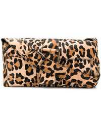P.A.R.O.S.H. - Leopard Shoulder Bag - Lyst