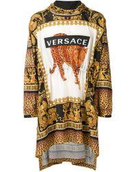 Versace - Sudadera con motivo barroco - Lyst