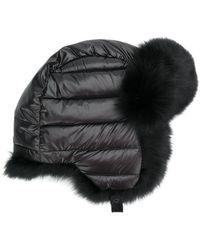 Mackage - Fox Fur Ear Covered Hat - Lyst