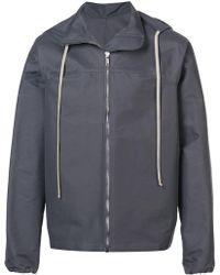 Rick Owens - Hooded Jacket - Lyst