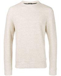 Theory - Crew Neck Sweater - Lyst