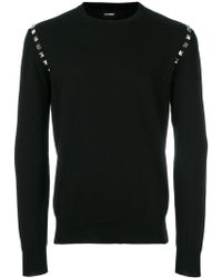 Les Hommes - Studded Jumper - Lyst