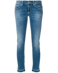 Dondup - Cropped Skinny Jeans - Lyst