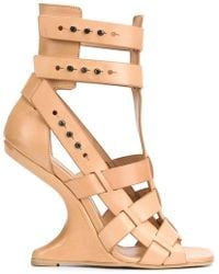 Rick Owens - 'cyclops Cantilevered' Sandals - Lyst