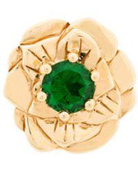 Aurelie Bidermann - 18kt Gold Bouquet Earring - Lyst