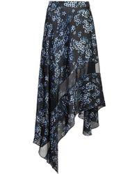 Fleur du Mal - Jasmine Print Handkerchief Skirt - Lyst