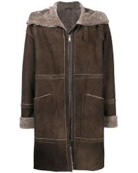 DESA NINETEENSEVENTYTWO - Zipped Midi Coat - Lyst