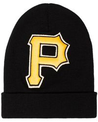 acdb617dbd2 Gucci - Black And Yellow Pittsburgh Pirates Beanie - Lyst