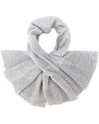 Paule Ka - Ribbed Cashmere Scarf - Lyst