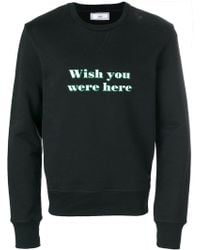 AMI - Wish You Were Here Sweatshirt - Lyst