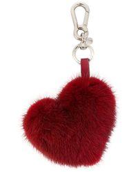 P.A.R.O.S.H. - Heart Bag Charm - Lyst