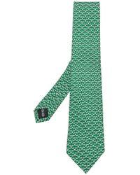 Ferragamo - Squirrel Print Tie - Lyst