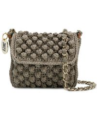 M Missoni - Knitted Style Crossbody Bag - Lyst