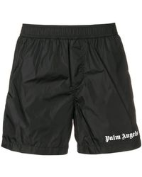 Palm Angels - Bermuda With Side Bands - Lyst