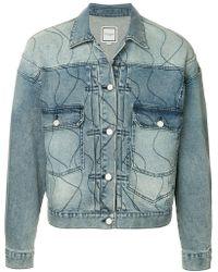 Wooyoungmi - Stitch Detail Denim Jacket - Lyst