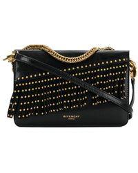 Givenchy - Studded Fringes Shoulder Bag - Lyst