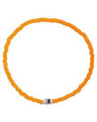 Luis Morais - Mini Palm Tree Barrel Bracelet - Lyst