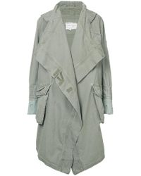 Greg Lauren - Oversized Parka Coat - Lyst