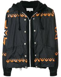 Maison Margiela - Layered Zip Jacket - Lyst