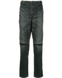 Sacai - High Waisted Jeans - Lyst