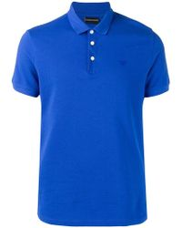 Emporio Armani - Poloshirt mit Logo - Lyst