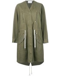 T By Alexander Wang - Military Style Jacket - Lyst
