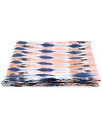 Raquel Allegra - Tie-dye Pattern Scarf - Lyst