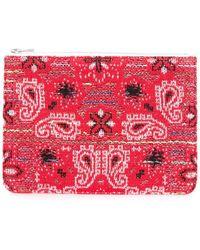 Coohem - Knit Tweed Bandana Pouch - Lyst