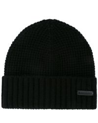 DSquared² - Ribbed Knit Hat - Lyst