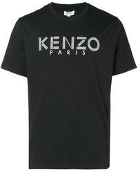 KENZO T-Shirt mit Logo-Print