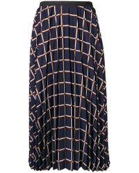 Antonio Marras - Flared Print Midi Skirt - Lyst