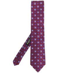Etro | Geometric Pattern Tie | Lyst