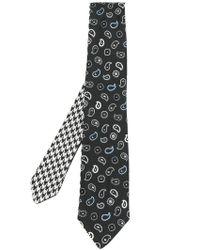 Etro - Embroidered Tie - Lyst