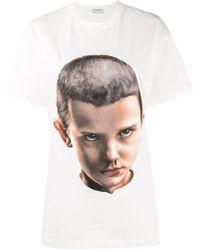 ih nom uh nit - Stranger Things T-shirt - Lyst