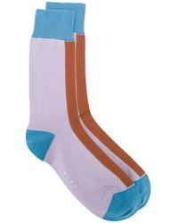 Marni - Colour Blocked Socks - Lyst
