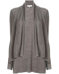 Vince - Ribbed Cardigan - Lyst