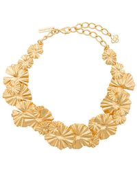 Oscar de la Renta - Wild Flower Necklace - Lyst