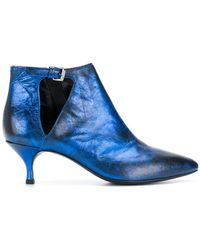 Strategia | Pointed Toe Booties | Lyst