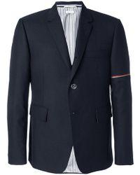 Thom Browne - Tri-stripe Detail Shirt Jacket - Lyst