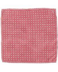 Canali - Polka Dot Pocket Square - Lyst