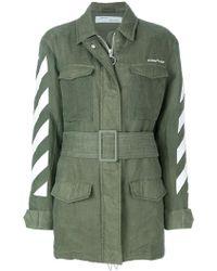 Off-White c/o Virgil Abloh - Military Jacket - Lyst