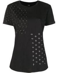 Pinko - Crystal Embellished T-shirt - Lyst