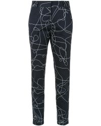 Egrey - Printed Skinny Pants - Lyst