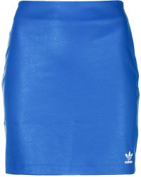 adidas - Short Fitted Skirt - Lyst