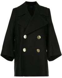 Eudon Choi - Tailored Knitted Coat - Lyst