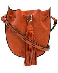 13aab5b59710 Rebecca Minkoff Quilted Denim Bag in Blue - Lyst