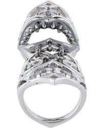 Stephen Webster - Articulated Long Finger Ring - Lyst